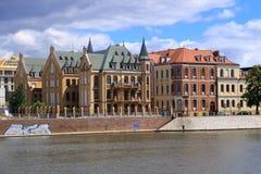 De mooie Stad van Wroclaw, Polen royalty-vrije stock foto's