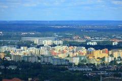 De mooie Stad van Wroclaw, Polen stock foto's