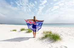 De Mooie Stranden van bezoekaustralië royalty-vrije stock afbeelding