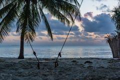 De Mooie Stranden van Dar-es-saalam bij Zonsopgang royalty-vrije stock foto's