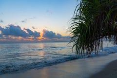 De Mooie Stranden van Dar-es-saalam bij Zonsopgang royalty-vrije stock fotografie