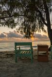 De Mooie Stranden van Dar-es-saalam bij Zonsopgang stock foto's