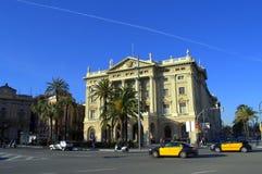 De mooie straten van Barcelona royalty-vrije stock afbeelding