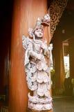 De mooie tempel in Wat Banden Stock Afbeeldingen