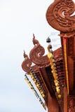 De mooie tempel in Wat Banden Stock Foto's