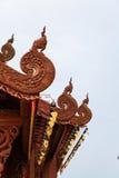 De mooie tempel in Wat Banden Stock Afbeelding