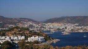 De mooie van de Overzeese vakantie Bodrum van Turkije zonzomer Royalty-vrije Stock Afbeelding