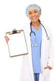 De mooie Verpleegster van de Vrouw royalty-vrije stock afbeelding