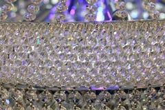 De mooie vertoning van de glaskroonluchter Royalty-vrije Stock Foto