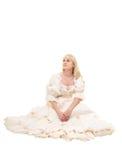 Mooie Victoriaanse Vrouw Royalty-vrije Stock Foto