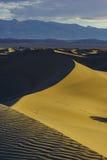 De mooie Vlakke Duinen van Mesquite Royalty-vrije Stock Afbeeldingen