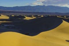 De mooie Vlakke Duinen van Mesquite Royalty-vrije Stock Foto's
