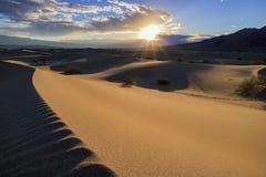 De mooie Vlakke Duinen van Mesquite Royalty-vrije Stock Foto