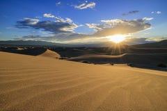 De mooie Vlakke Duinen van Mesquite Stock Foto