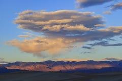 De mooie Vlakke Duinen van Mesquite Stock Afbeelding
