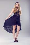 De mooie Vrouw van de Blonde Stock Fotografie
