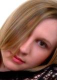 De mooie Vrouw van de Blonde Royalty-vrije Stock Afbeeldingen