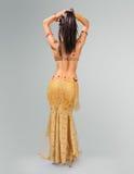 De mooie vrouw van de buikdanser Royalty-vrije Stock Foto's