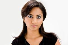 De mooie vrouw van de Hindi stock afbeelding