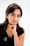 De mooie vrouw van de Hindi royalty-vrije stock foto's