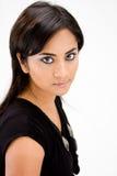 De mooie vrouw van de Hindi royalty-vrije stock afbeelding