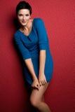 De mooie Vrouw van de Manier Royalty-vrije Stock Foto