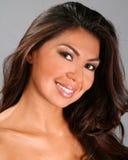 De mooie Vrouw van Latina stock afbeelding