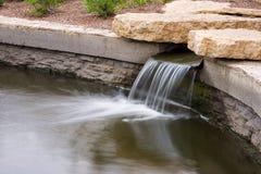 De mooie waterval van het Park Stock Foto