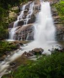 De mooie waterval van Huai Sai Lueang van het chaing van MAI, Thailand Royalty-vrije Stock Afbeeldingen