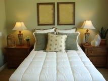 De mooie Zaal van het Bed Royalty-vrije Stock Afbeelding