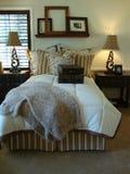 De mooie Zaal van het Bed Stock Foto