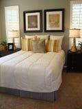 De mooie Zaal van het Bed Stock Fotografie