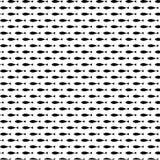 De mooie zwarte vector van het vissen naadloze patroon royalty-vrije illustratie