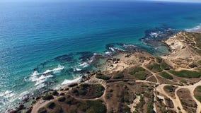 De mooiste kust van de Middellandse Zee Reis met al uw familie stock footage