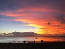 De mooiste zonsondergang royalty-vrije stock afbeeldingen