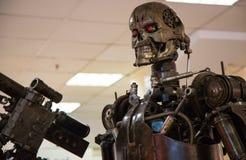 De moordenaar van het robotmetaal Royalty-vrije Stock Foto's