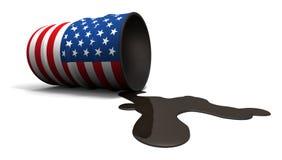 De morserij van de olie van Amerikaanse trommel Stock Foto's