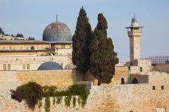 De Moskee al-Aqsa Stock Foto's