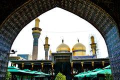 De Moskee al-K?dhimiya Stock Afbeeldingen