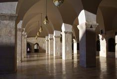 De moskee Aleppo, Syrië van Umayyad royalty-vrije stock afbeelding