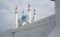 De moskee in centrum van Rusland stock foto's