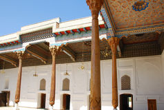 De moskee in de Bakvesting Royalty-vrije Stock Afbeeldingen