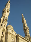 De moskee Gr -Gr-mogamma' in Port Said (Egypte) Stock Afbeelding