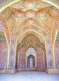 De Moskee Iran van Nasir al-Mulk van het plafond royalty-vrije stock afbeelding