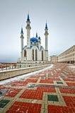 De moskee in Kazan het Kremlin Stock Afbeeldingen