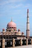De moskee Putra royalty-vrije stock afbeeldingen