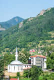 De moskee in Smolyan in Bulgarije Stock Afbeelding