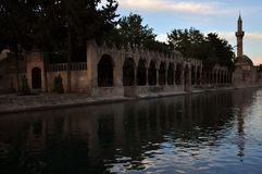 De moskee in de stad van Urfa royalty-vrije stock afbeelding