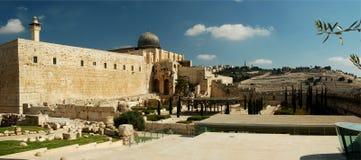 De moskee van al-Aqsa Stock Foto's