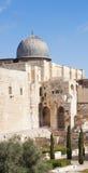 De moskee van al-Aqsa (de moskee van Omar) Stock Fotografie